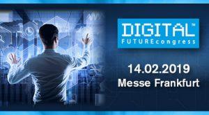 Mittelstand trifft Digitalisierung: chain relations ist beim Digital FUTUREcongress 2019 dabei!