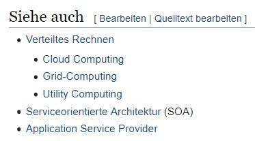 Keywords finden Sie auch bei Wikipedia.