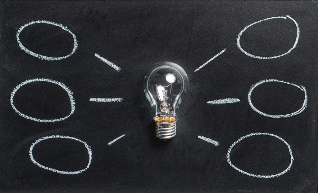 Mithilfe eines Brainstormings kommen Sie schnell zu ersten, guten Ideen für Ihr Content Marketing.